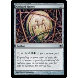 Artefact - Cachet de Golgari (C) [CMDER]