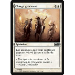 Blanche - Charge glorieuse (C) [M10] (FOIL)