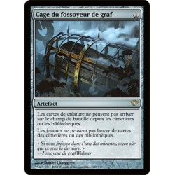 Artefact - Cage du Fossoyeur de Graf (FOIL R) [DKA