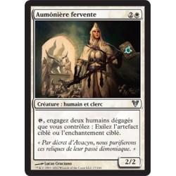 Blanche - Aumônière Fervente (U) FOIL [AVR]