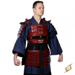 Armure Samouraï Rouge