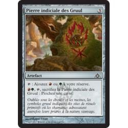 Artefact - Pierre indiciale des Gruul (C) FOIL [DG