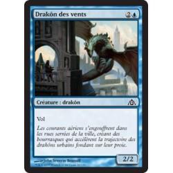 Bleue - Drakôn des vents (C) FOIL [DGM]