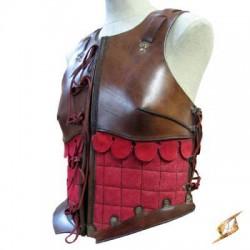 Armure - Femme Rouge Marron (S)
