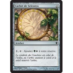 Artefact - Cachet de Selesnya (C) [CMD13]