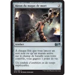 Artefact - Bâton du magus de mort (U) [M15]