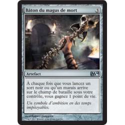 Artefact - Bâton du magus de mort (U) [M14] FOIL