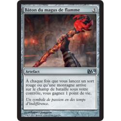 Artefact - Bâton du magus de flamme (U) [M14] FOIL