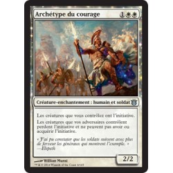 Blanche - Archétype du courage (U) [BNG] FOIL