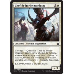 Blanche - Chef de horde marduen (C) [KTK] FOIL