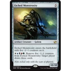 Artefact - Etched Monstrosity (R) [MM2]