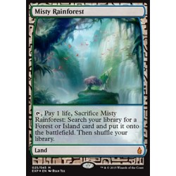 Terrain - Zendikar Expeditions Misty Rainforest (FOIL)