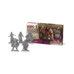 Black Plague NPC-1 - Notorious Plague Characers Zombicide