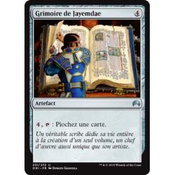 Artefact - Grimoire de Jayemdae (U) [ORI] FOIL