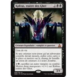 Noire - Kalitas, Traître des Ghet (M) [OGW] FOIL