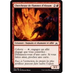 Rouge - Chercheuse de Flammes d'Akoum (C) [OGW] FOIL