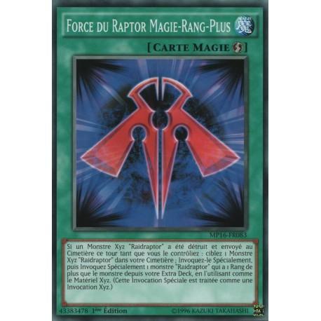 Force du Raptor Magie-Rang-Plus (C) [MP16]