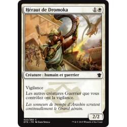 Blanche - Héraut de Dromoka (C) [DTK] FOIL