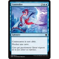 Bleue - Contredire (C) [DTK] FOIL