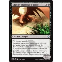Noire - Dragon cracheur d'acide (U) [DTK] FOIL