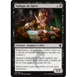 Noire - Sadique de Qarsi (C) [DTK] FOIL