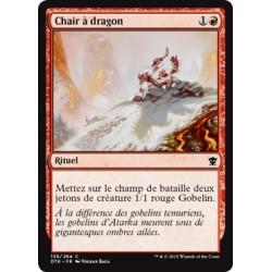 Rouge - Chair à dragon (C) [DTK] FOIL