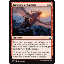 Rouge - Triomphe de Sarkhan (U) [DTK] FOIL