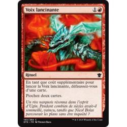 Rouge - Voix lancinante (C) [DTK] FOIL