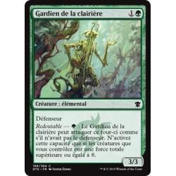 Verte - Gardien de la clairière (C) [DTK] FOIL