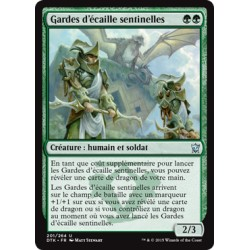 Verte - Gardes d'Ecaille Sentinelles (U) [DTK] FOIL