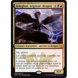 Or - Kolaghan, Seigneur-Dragon (M) [DTK] FOIL