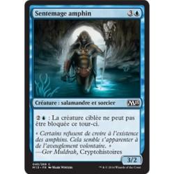 Bleue - Sentemage amphin (C) [M15] FOIL
