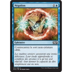 Bleue - Négation (C) [M15] FOIL