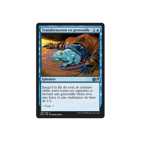 Bleue - Transformation en grenouille (U) [M15] FOIL