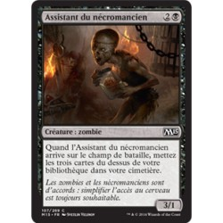 Noire - Assistant du nécromancien (C) [M15] FOIL