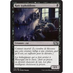Noire - Rats typhoïdiens (C) [M15] FOIL