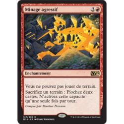 Rouge - Minage agressif (R) [M15] FOIL