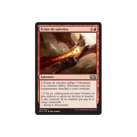 Rouge - Eclair de salvefeu (C) [M15] FOIL
