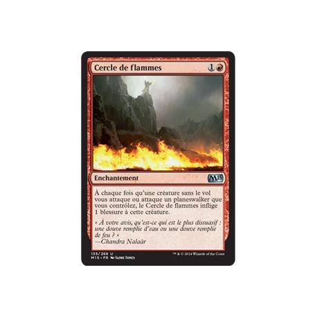 Rouge - Cercle de flammes (U) [M15] FOIL