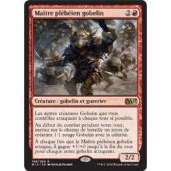 Rouge - Maître plébéien gobelin (R) [M15] FOIL