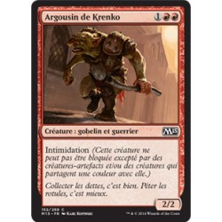 Rouge - Argousin de Krenko (C) [M15] FOIL