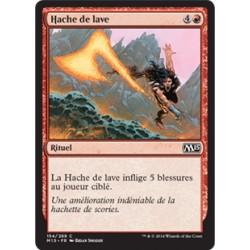Rouge - Hache de lave (C) [M15] FOIL