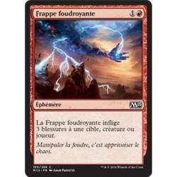 Rouge - Frappe foudroyante (C) [M15] FOIL