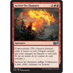 Rouge - Activer les flammes (U) [M15] FOIL