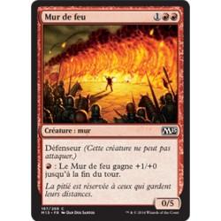 Rouge - Mur de feu (C) [M15] FOIL