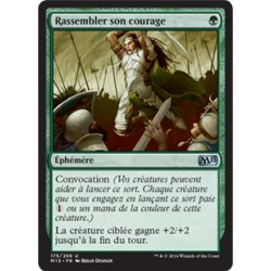 Verte - Rassembler son courage (U) [M15] FOIL