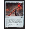 Artefact - Bâton du magus de flamme (U) [M15] FOIL