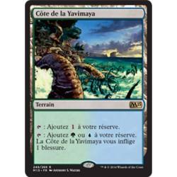 Terrain - Côte de la Yavimaya (R) [M15] FOIL