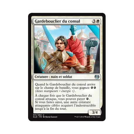 Blanche - Gardebouclier du consul (U) [KLD]