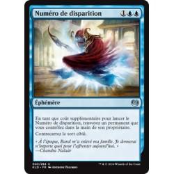 Bleue - Numéro de disparition (U) [KLD]